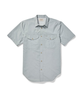 Filson SS Twin Lakes Sport Shirt - Mint Gray