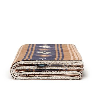 Rumpl Sherpa Printed Puffy Blanket  - Cowboy Lomoro