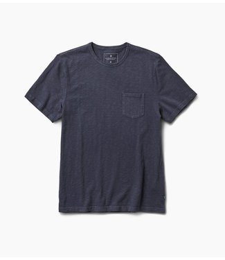 Roark Revival Well Worn S/S Knit - Navy