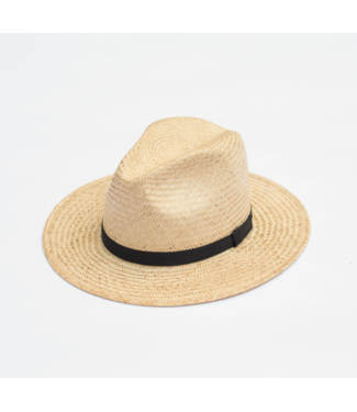 Yellow 108 Stevie Palm Straw Hat