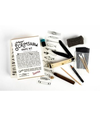 Mollyjogger Scrimshaw Kit + Trapper Knife