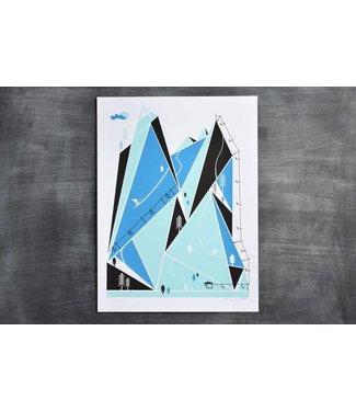 Ski Resort Print