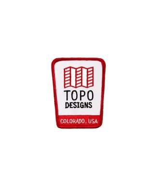 Topo Designs Topo Logo Patch