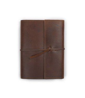 Rustico Writers Log Refillable Leather Notebook