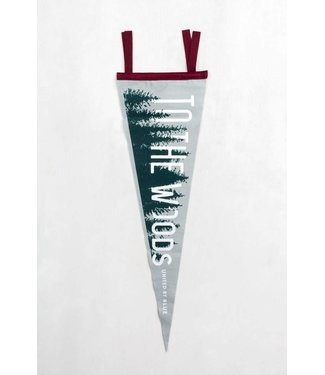 United By Blue To The Woods Pennant