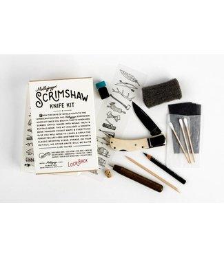 Mollyjogger Scrimshaw Kit & Lockback Knife