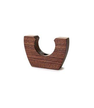 Sanborn Canoe Walnut Wood Paddle Hanger