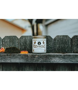 Light Provisions 8 oz Grapefruit Oakmoss Candle