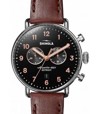 Shinola Canfield Chrono 43mm