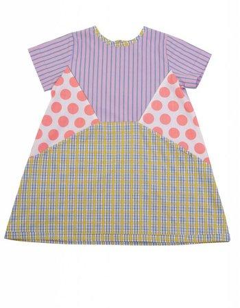 MEGAN PARK Megan Park GIRL Patchy Spot Dress