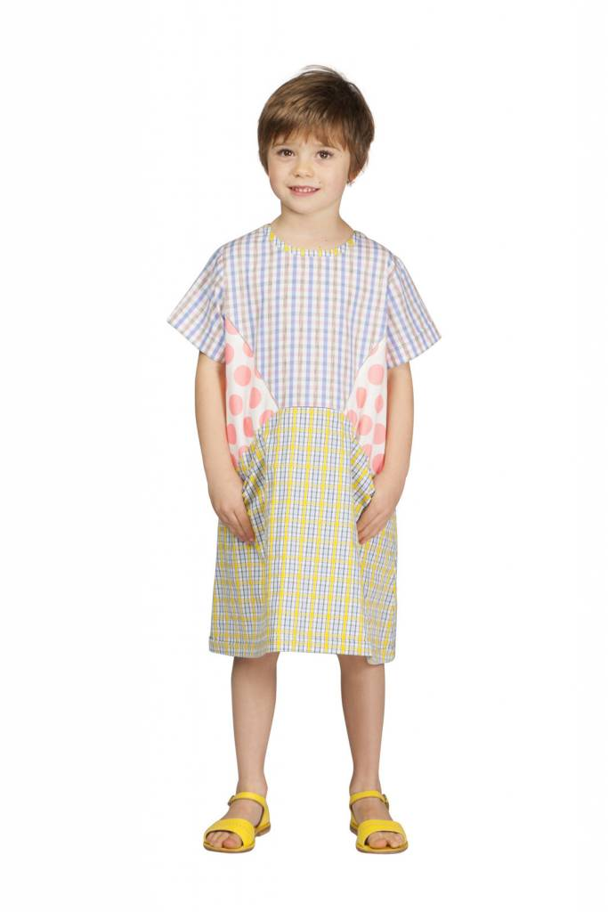MEGAN PARK Megan Park GIRL Patchy Spot Dress