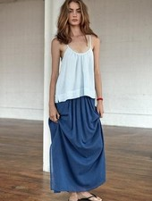 LOUP CHARMANT Loup Charmant Pleated Beach Skirt