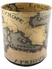 JOHN DERIAN John Derian 18th Century Map Desk Cup