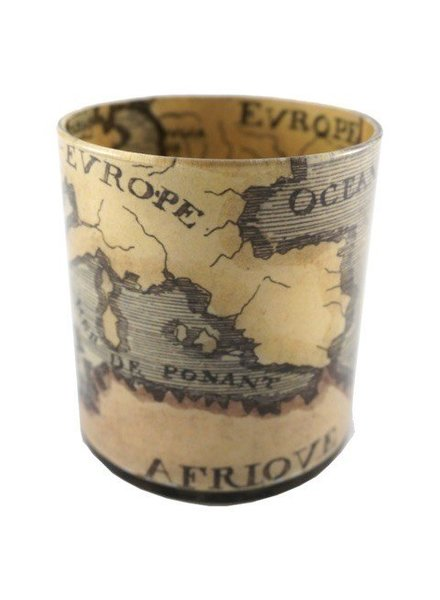 JOHN DERIAN John Derian 18th Century Map Desk Cup