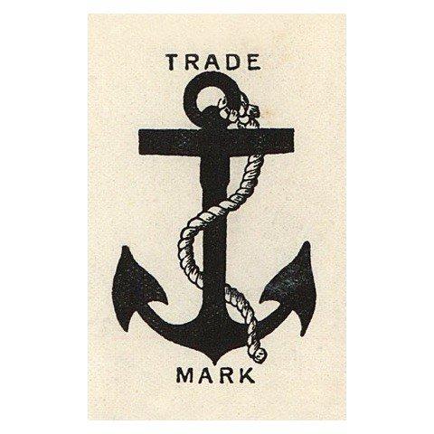 JOHN DERIAN John Derian Anchor Trademark Postcard
