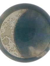 JOHN DERIAN John Derian Blue Crescent Dome Paperweight