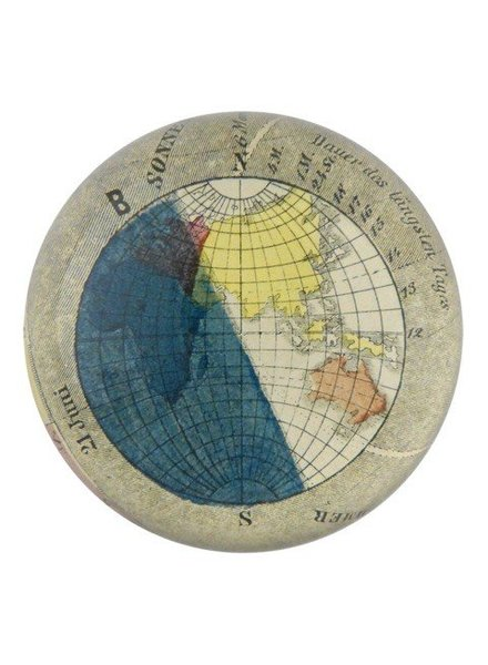 JOHN DERIAN John Derian Earth: Summer Dome Paperweight