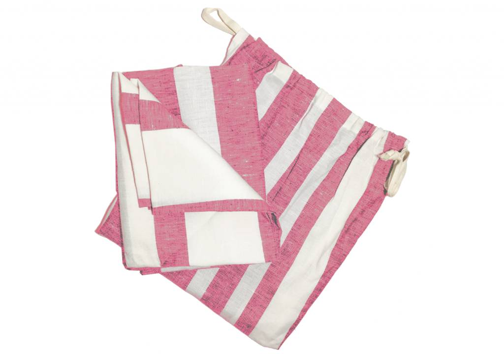 HEDGEHOUSE Hedgehouse Majorca Linen Beach Towel