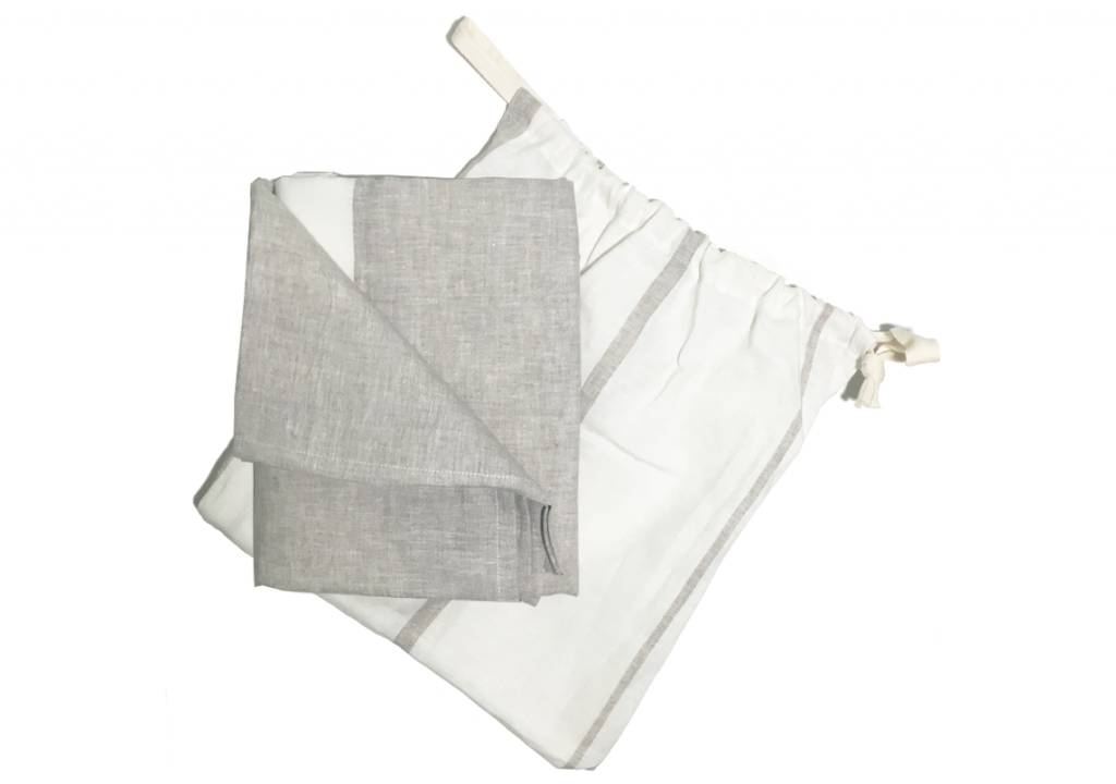 HEDGEHOUSE Hedgehouse Majorca Linen Beach Towel