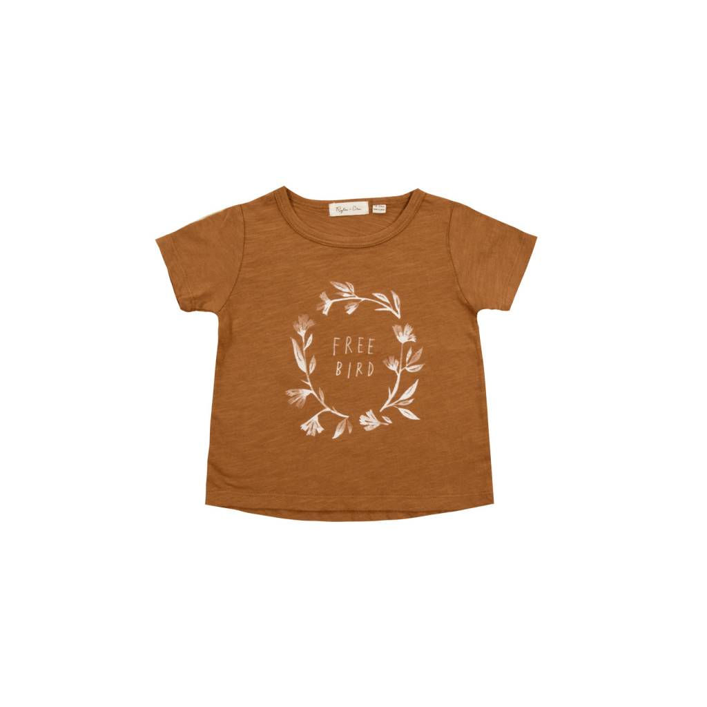 RYLEE & CRU Rylee and Cru Free Bird Tee