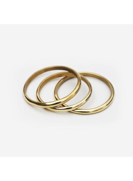 MEYELO Meyelo Simple Thick Bangle