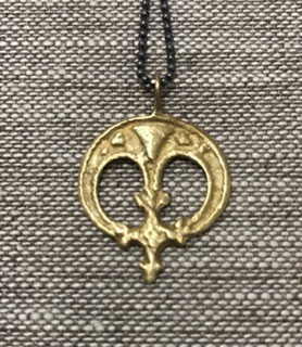 SAINT MART Saint Mart NYC Viking Saxon Moon Pendant