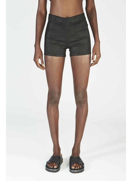 ISABEL BENENATO Isabel Benenato Leather Shorts