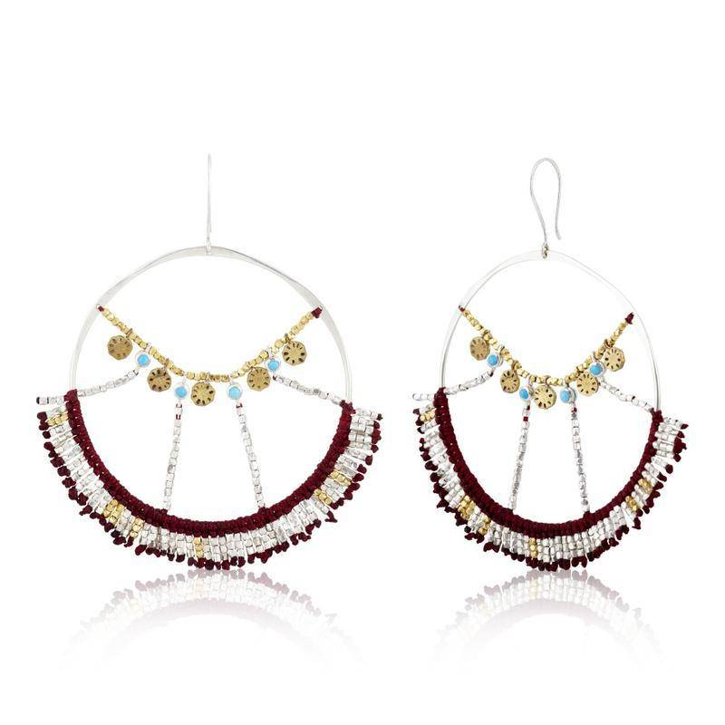 SCOSHA Scosha Wonderland Hoop Earrings