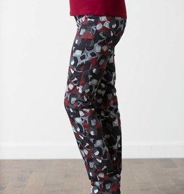 LISETTE L Pantalon à paisley taille confort
