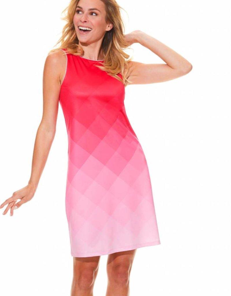 1e8572b5f81 MISS VERSA THEO Robe rose dégradé ...