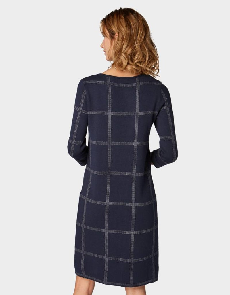 TOM TAILOR Robe sport à manches 3/4