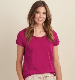 HATLEY Tee-shirt framboise