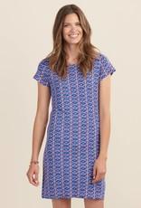 HATLEY Robe tee-shirt à motifs