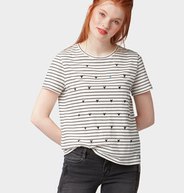 TOM TAILOR Tee-shirt Coeurs