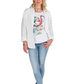 MODE TRICOTTO Tee-shirt Flamant