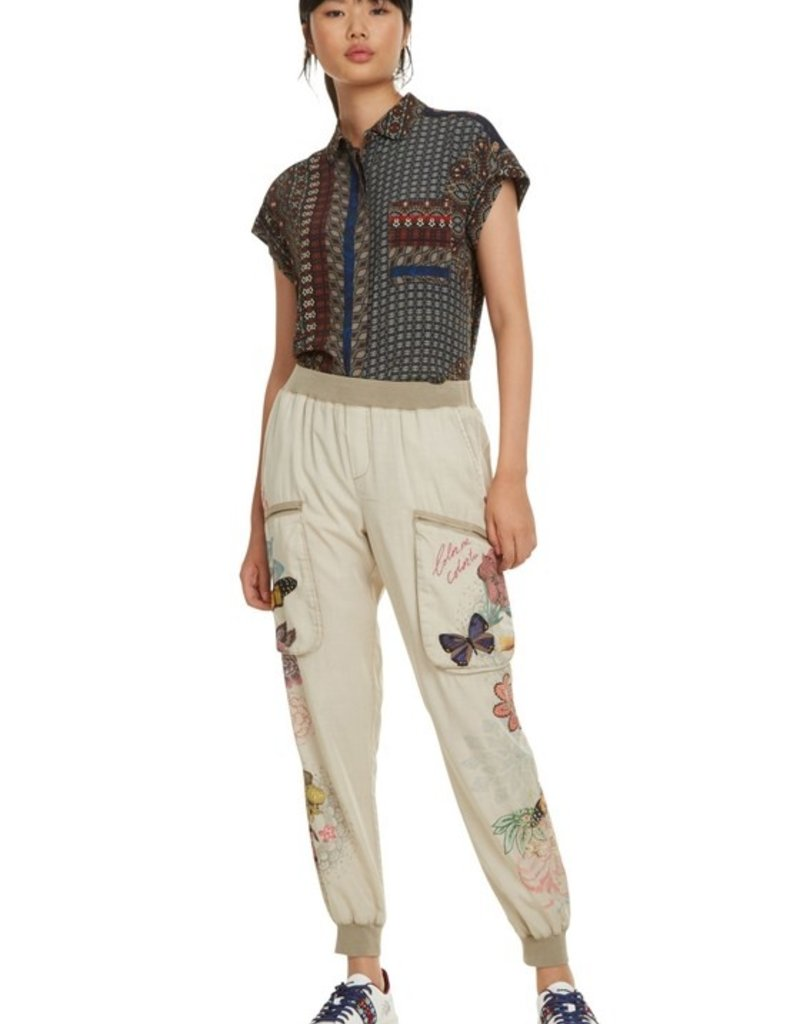 DESIGUAL Pantalon Confort