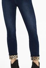 Jeans à revers