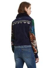 DESIGUAL Veste de jeans/velours