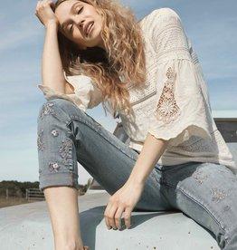 TRIBAL Jeans brodés