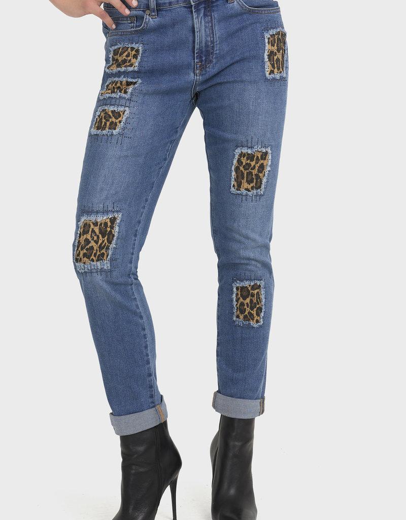 JOSEPH RIBKOFF Jeans à empiècements 194942