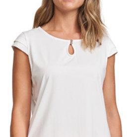 CYC Tee-shirt blanc ou corail