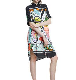 DESIGUAL Robe chemisier
