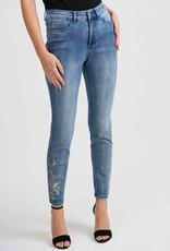 JOSEPH RIBKOFF Jeans fleurs 201991