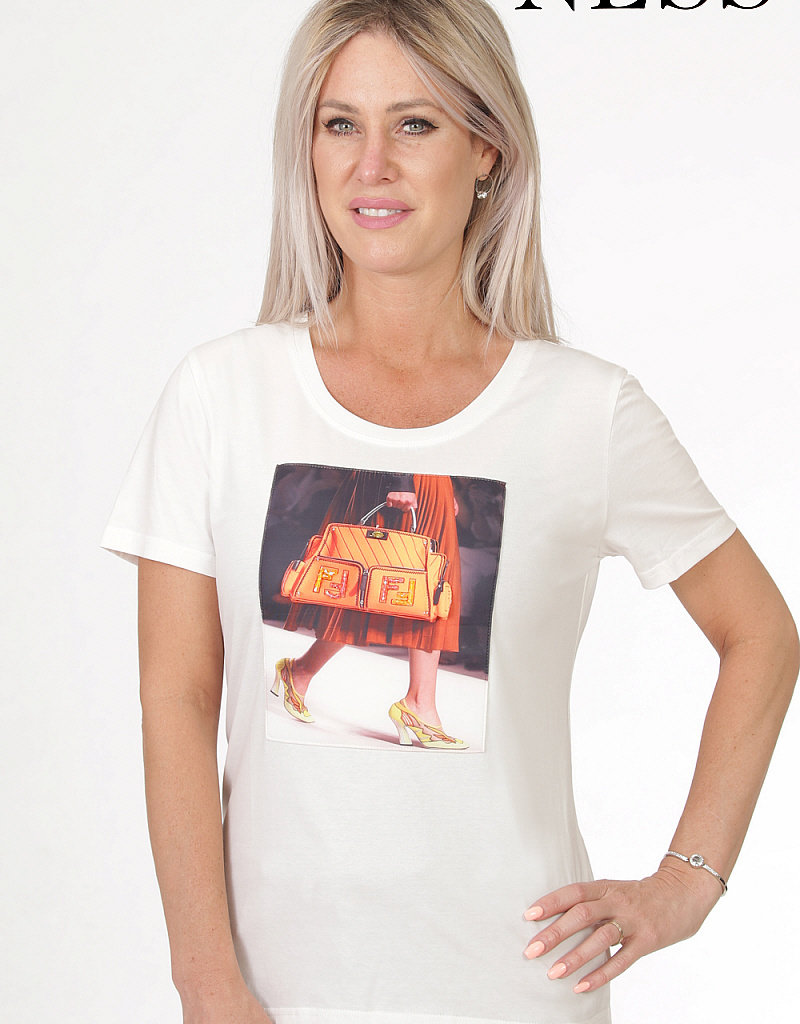 NESS Tee-shirt col rond