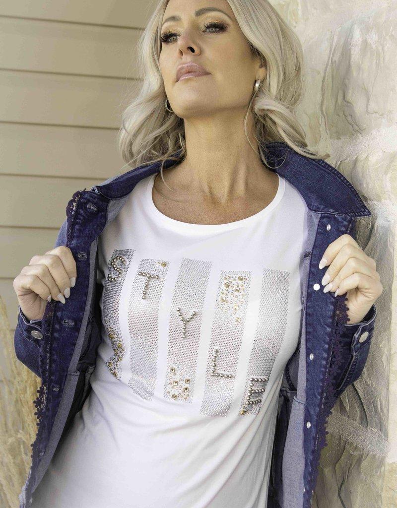 NESS Tee-shirt STYLE à perles