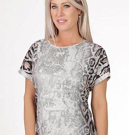 NESS Tee-shirt léopard