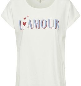 CREAM Tee-shirt col rond
