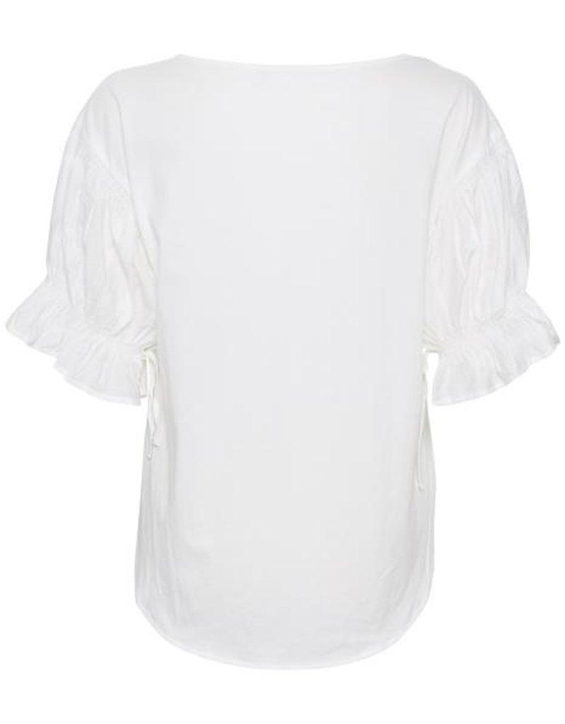 CREAM Blouse blanche