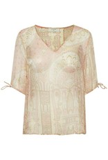 CREAM Blouse col V