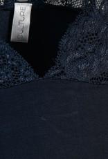 CULTURE Tee-shirt dentelle